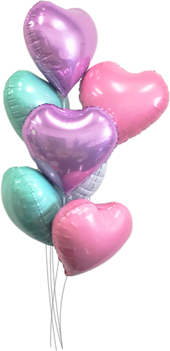 Bundle of Pastel Hearts