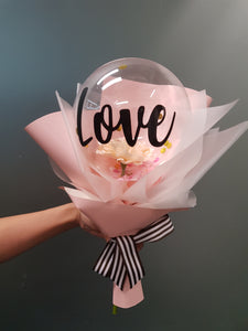 Floral in SPACE Bouquet - Pink