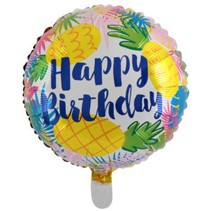 Happy Birthday (Pineapple)