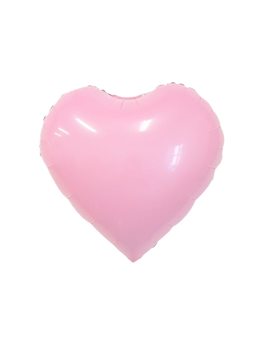 Candy Pink Heart Foil