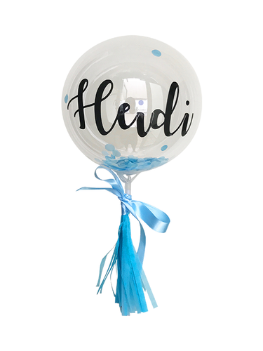 Mini Customised Balloon (Blue)