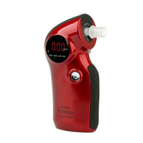 ,  AlcoMate Prestige (AL-6000) Red Basic Kit- Replaceable Sensor Technology., AlcoTester.com,  AlcoMate Breathalyzers