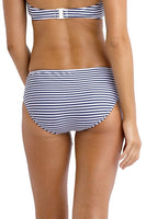 Seafolly River Stripe Ruched Side Retro Pant