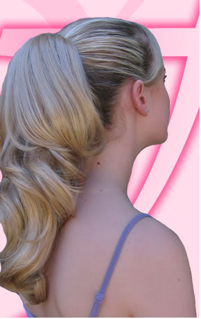 Viva Fiesta Long Wavy Pony Tail