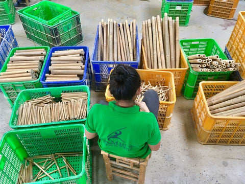 boohugger bamboo production