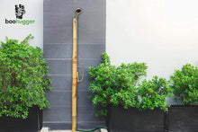 Outdoor Bamboo Shower