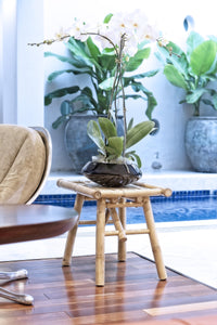 Bamboo Side Table - Stool - Plant Stand - Accent Table