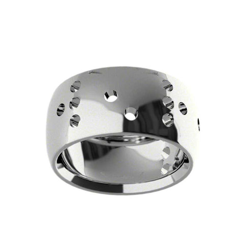 Braille Spot Ring