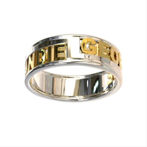 Double Couples Wedding Band