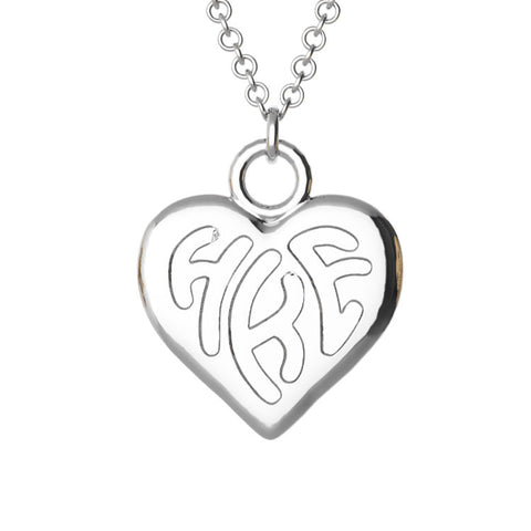 Heart Monogram Pendant