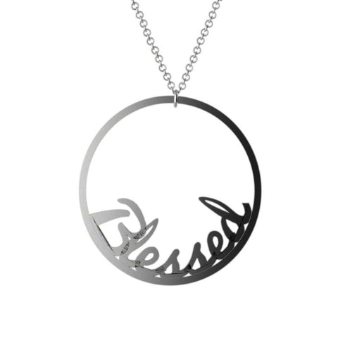Loop Name Necklace