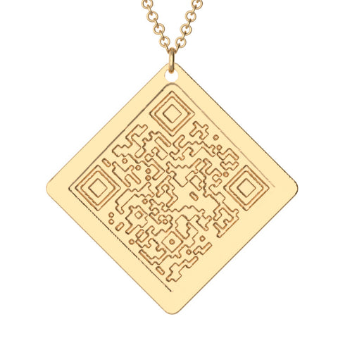 QR Code Necklace
