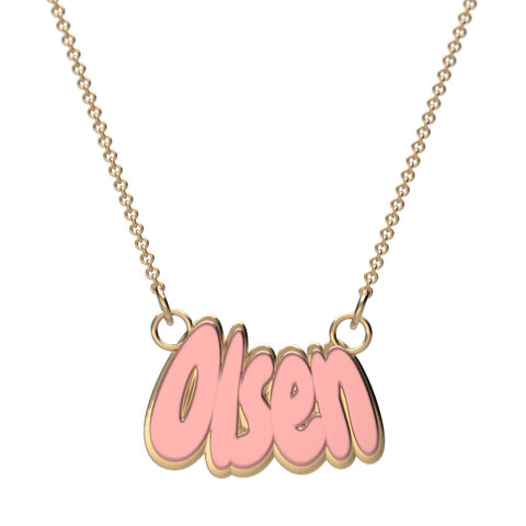 Chewy Name Necklace