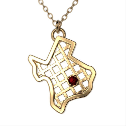 Texas Gem Necklace