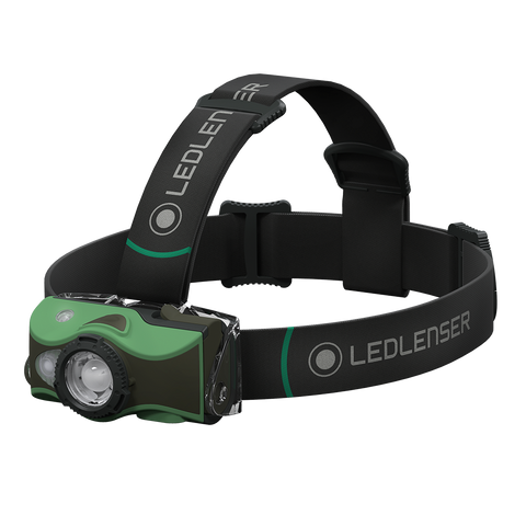 MH8 Green Rechargeable Headlamp