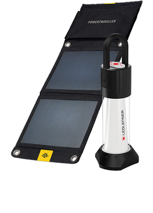 ML6 and Falcon 7 Solar Combo | Solar Panel Charger & Lantern