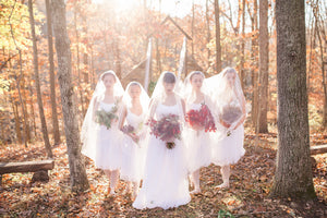 DRAMATIC FALL WEDDING INSPIRATION