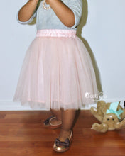Claire Kids Blush Pink Soft Tulle Skirt - C'est Ça New York
