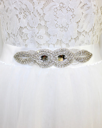 Anne Jeweled Bridal Sash - C'est Ça New York