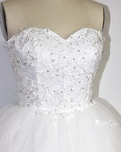 Amanda Snow White Wedding Tulle Lace Dress - Midi - C'est Ça New York