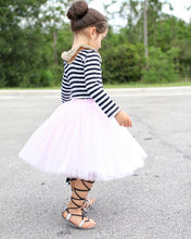 Clarisa Kids Blush Pink Puffy Tulle Skirt - C'est Ça New York