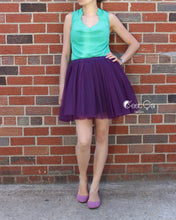 Clarisa Deep Purple Tulle Skirt - Midi - C'est Ça New York