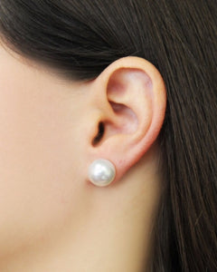 Freshwater Cultured Pearl Stud Earrings - C'est Ça New York