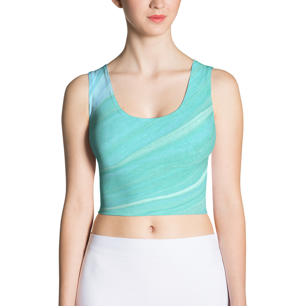 Sublimation Cut & Sew Crop Top - C'est Ça New York