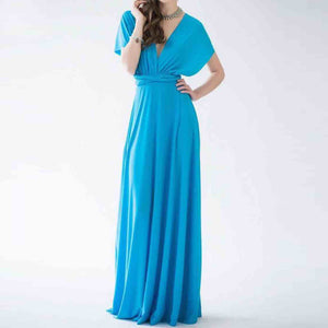 Azalea Bridesmaid Lush Convertible Infinity Maxi Dress (assorted colors) - C'est Ça New York