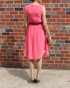 Vanessa Pink High-Low Cocktail Dress - C'est Ça New York