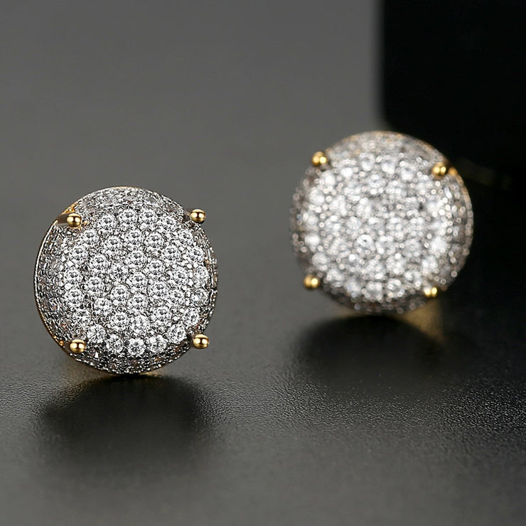 'KEITH ST' 1.25ct Earrings - 18K Gold Finish