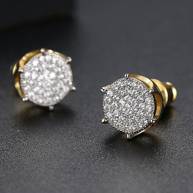 'LAGUNA ST' 0.75ct Earrings - 18K Gold Finish