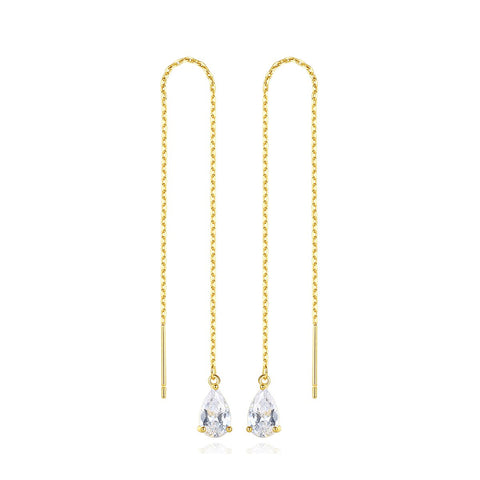 'Ritanna' Earrings - 18K Gold Finish