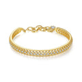 18k Gold Finish 'Gaudiosa' Bracelet # Bracelets for Women # Gift for Women # Women Jewelry #