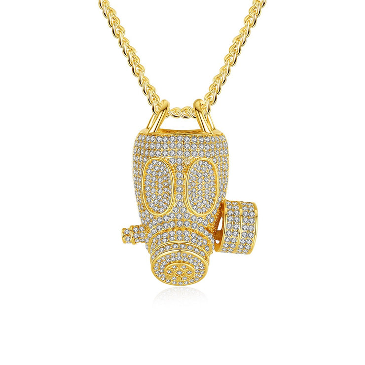 'EMERY LN' 5ct Necklace - 18K Gold Finish