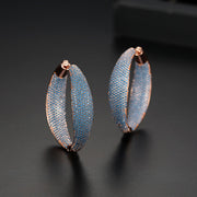 'Oriente' Earrings - 18K Rose Gold Finish