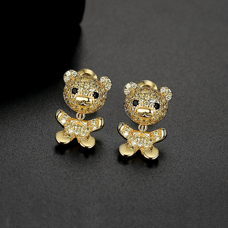 'Primola' Earrings - 18K Gold Finish