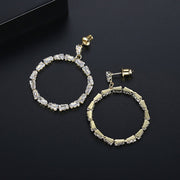 'Flor' Earrings - 18K Gold Finish