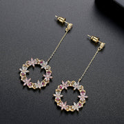 'Fiordalisa' Earrings - 18K Gold Finish