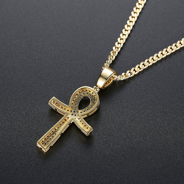 'FOOTE AVE' 3ct Necklace - 18K Gold Finish
