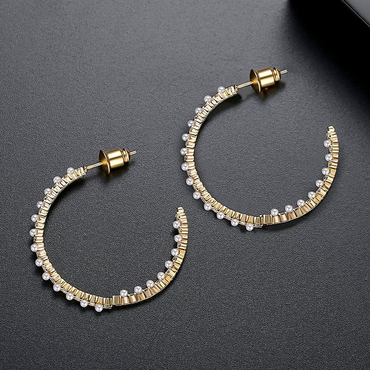 'Armida' Earrings - 18K Gold Finish