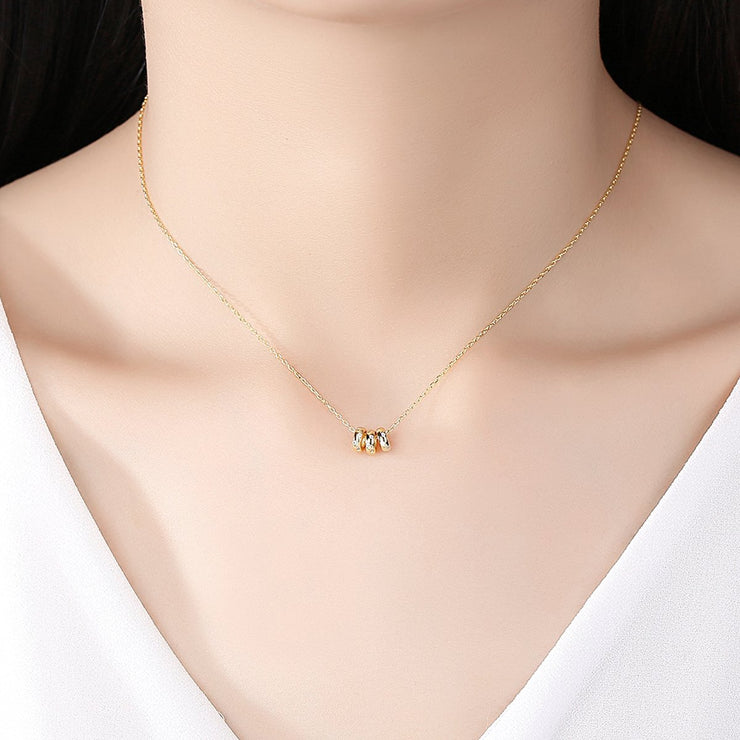 'Gianpiera' Necklace - 18K Gold & Sterling Silver