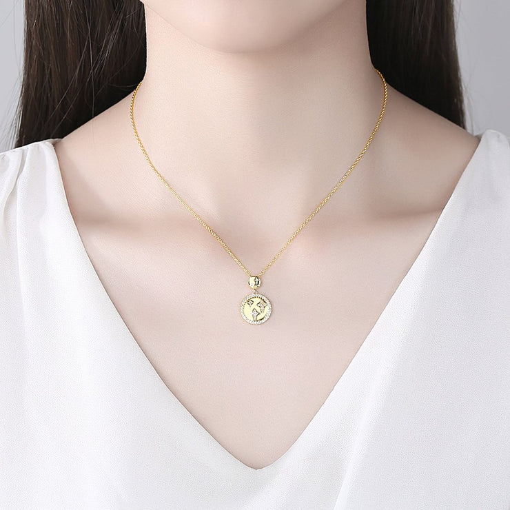 'Fedelica' Necklace - 18K Gold Finish