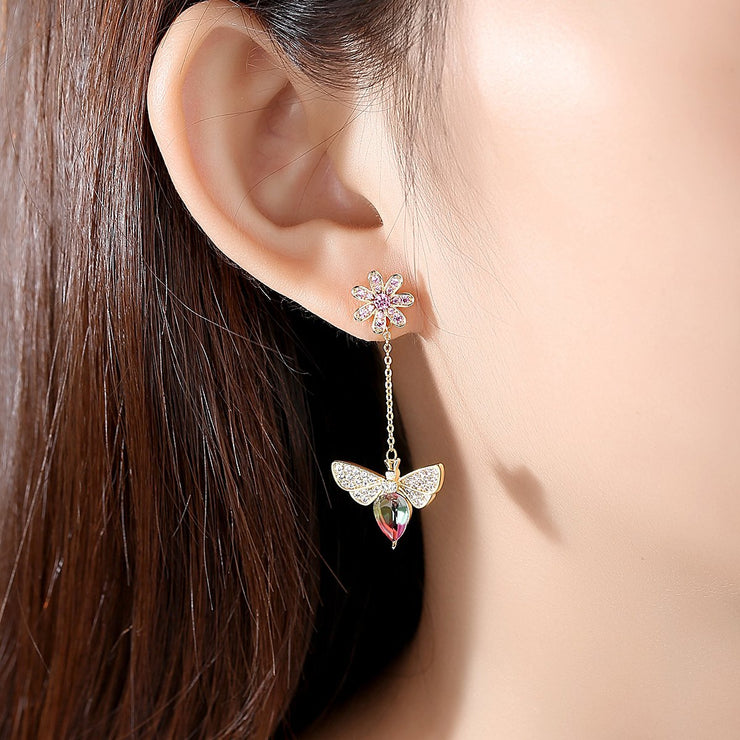 'Genova' Earrings - 18K Gold Finish