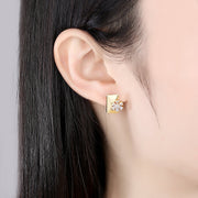 'Giacoma' Earrings - 18K Gold Finish