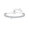 'Soccorsa' Bracelet - 18K White Gold Finish