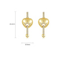 'Quendalina' Earrings - 18K Gold Finish