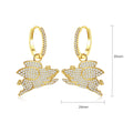 'Scrofa' 1.75ct Earrings - 18K Gold Finish