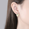 'Olivina' Earrings - 18K Gold Finish