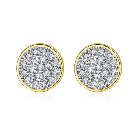 'LOEHR ST' 0.5ct Earrings - 18K Gold Finish